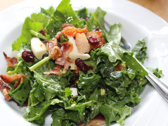Bacon and Greens Salad
